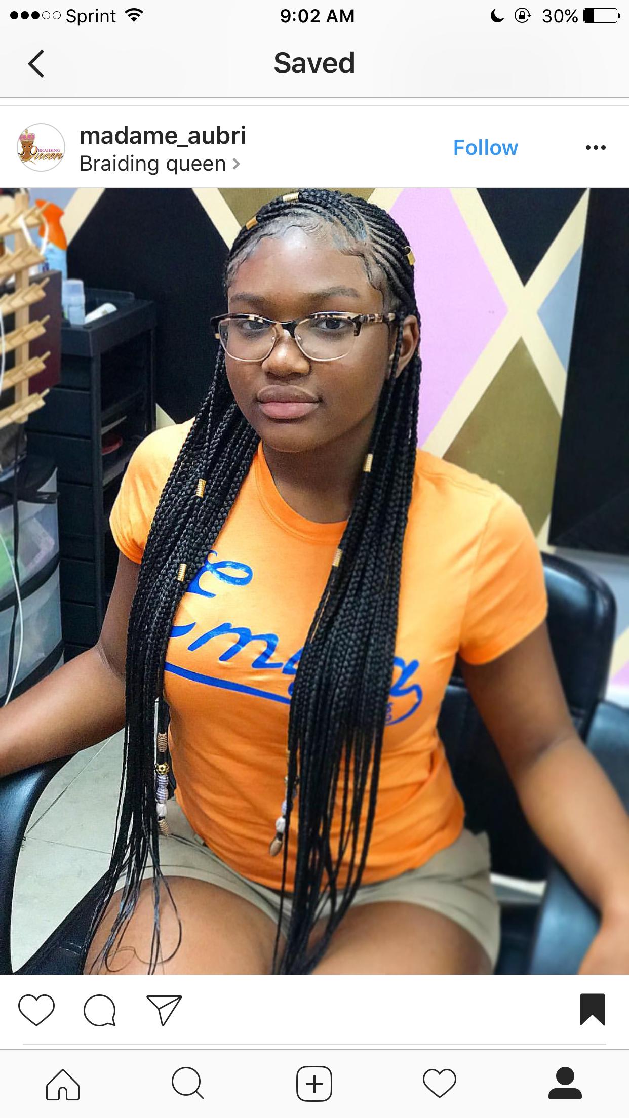 Trend Alert Awesome Looking Fulani Braids Plait hairstyles Box