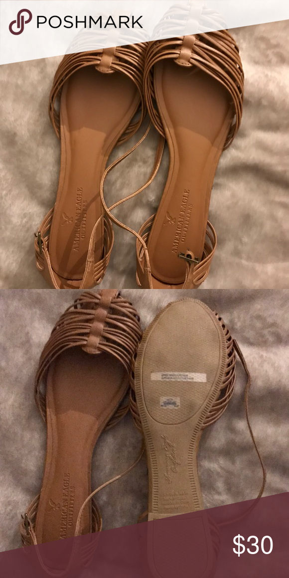 57f1ff8d6f69 NWOT American eagle outfitters sandals Brand new never worn American eagle  outfitters closed toe ankle wrapped sandals American Eagle Outfitters Shoes  ...