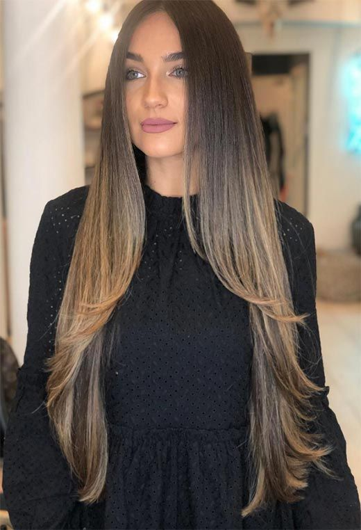 67 Trendy Long Layered Haircuts & Hairstyles for Every ...
