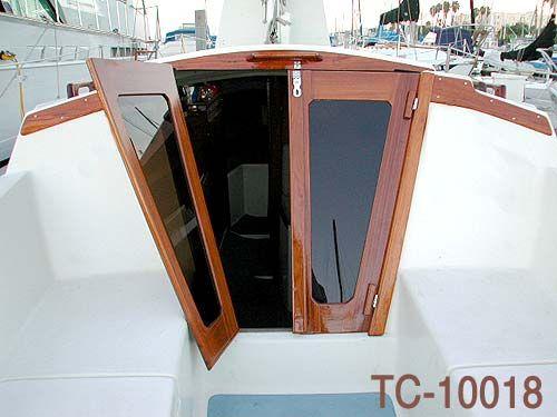 Sailboat Companionway Doors Scorpion 32 Bootsbau