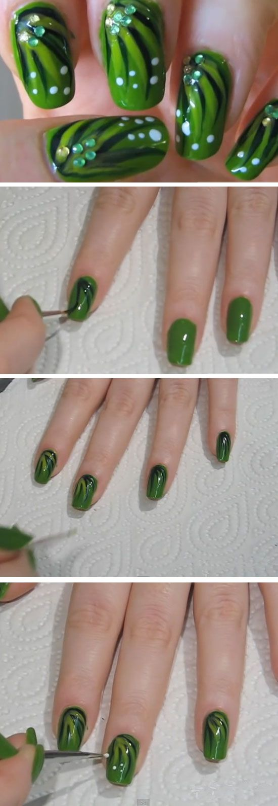 19 Easy St Patricks Day Nail Designs | Nagelschere
