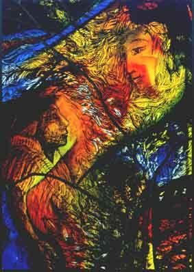 Stockhausen Isensee Kunst Art Glas Malerei Zeichnung, Radierung, Drawing