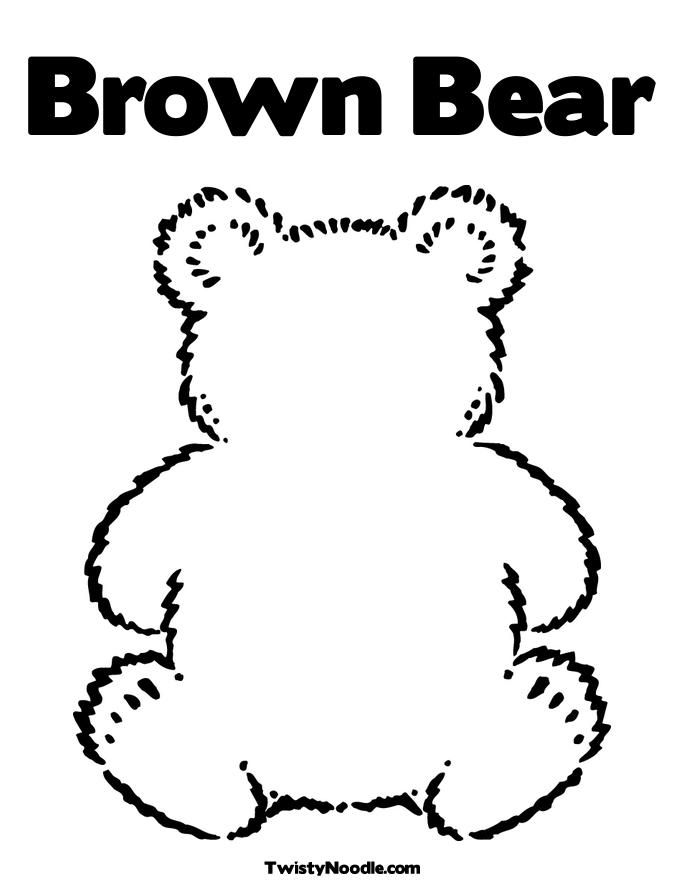 Teddy Bear Coloring Sheets And Polar Color Sheet