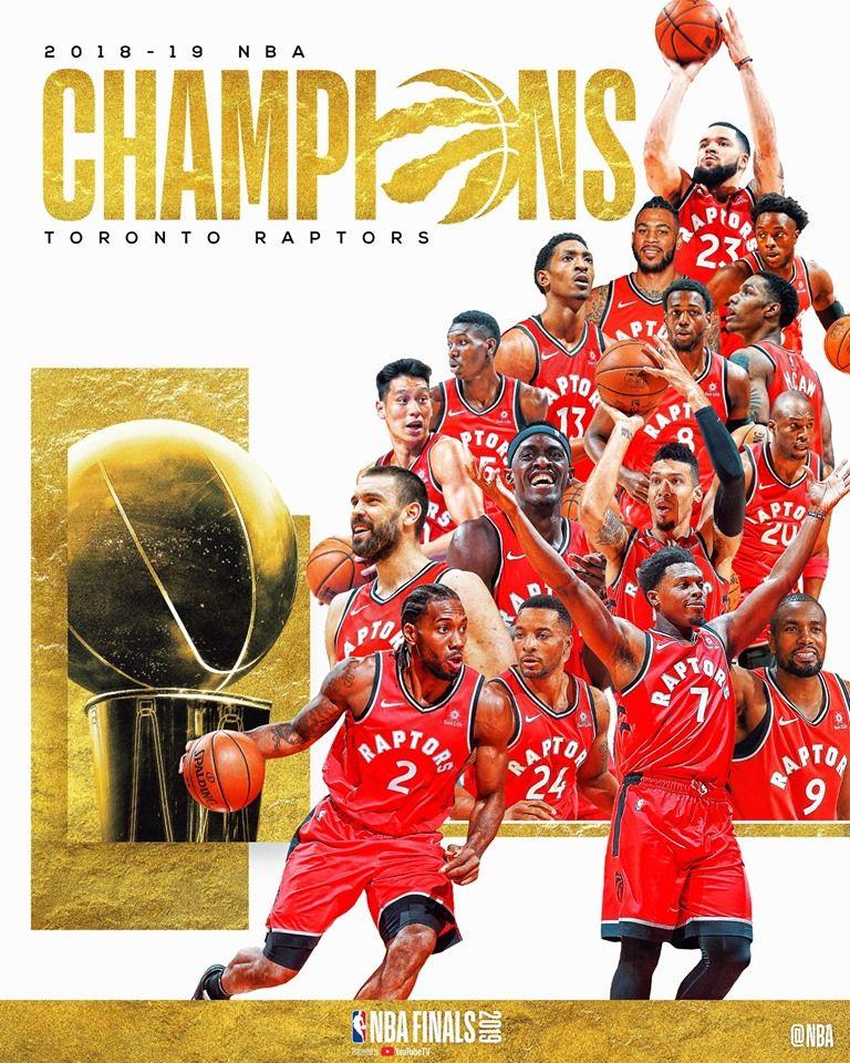 Congratulation to the Toronto Raptors as the 2019 NBA