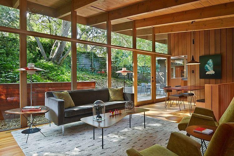 Mid Century Modern Renovation By Koch Architects Mid Century