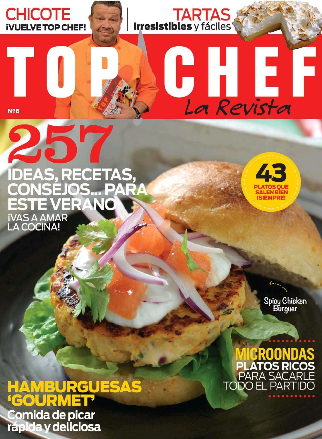Libros De Cocina De Autor Revista Top Chef 6 Libro Cocina Ethnic Recipes Food Y