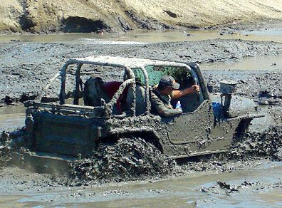 In Deep And No Turning Back Offroad Jeep Jeep Jeep Life