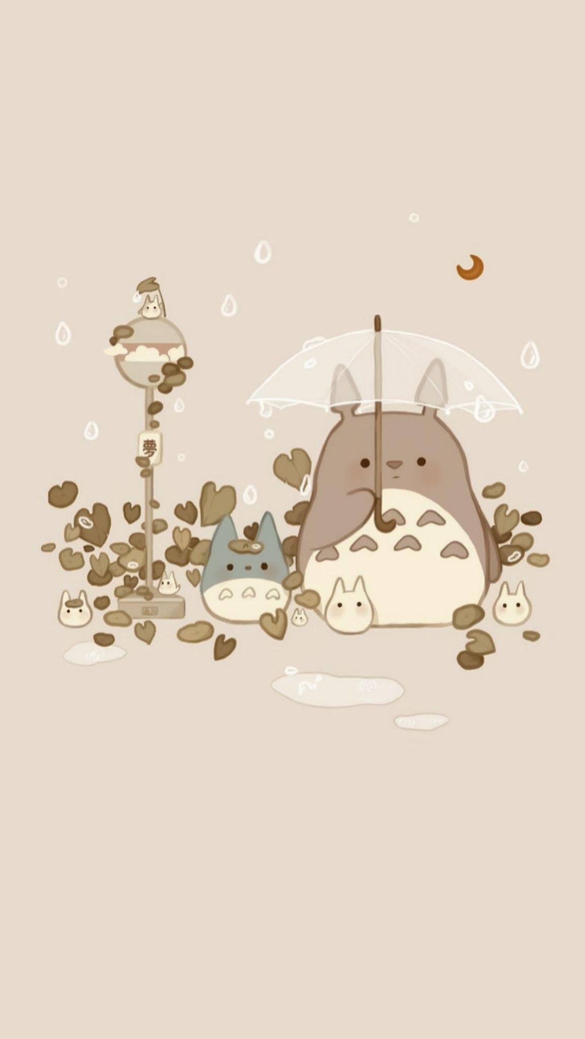Pin By Aekkalisa On Totoro In 2020 Ghibli Artwork Studio Ghibli Fanart Anime Wallpaper