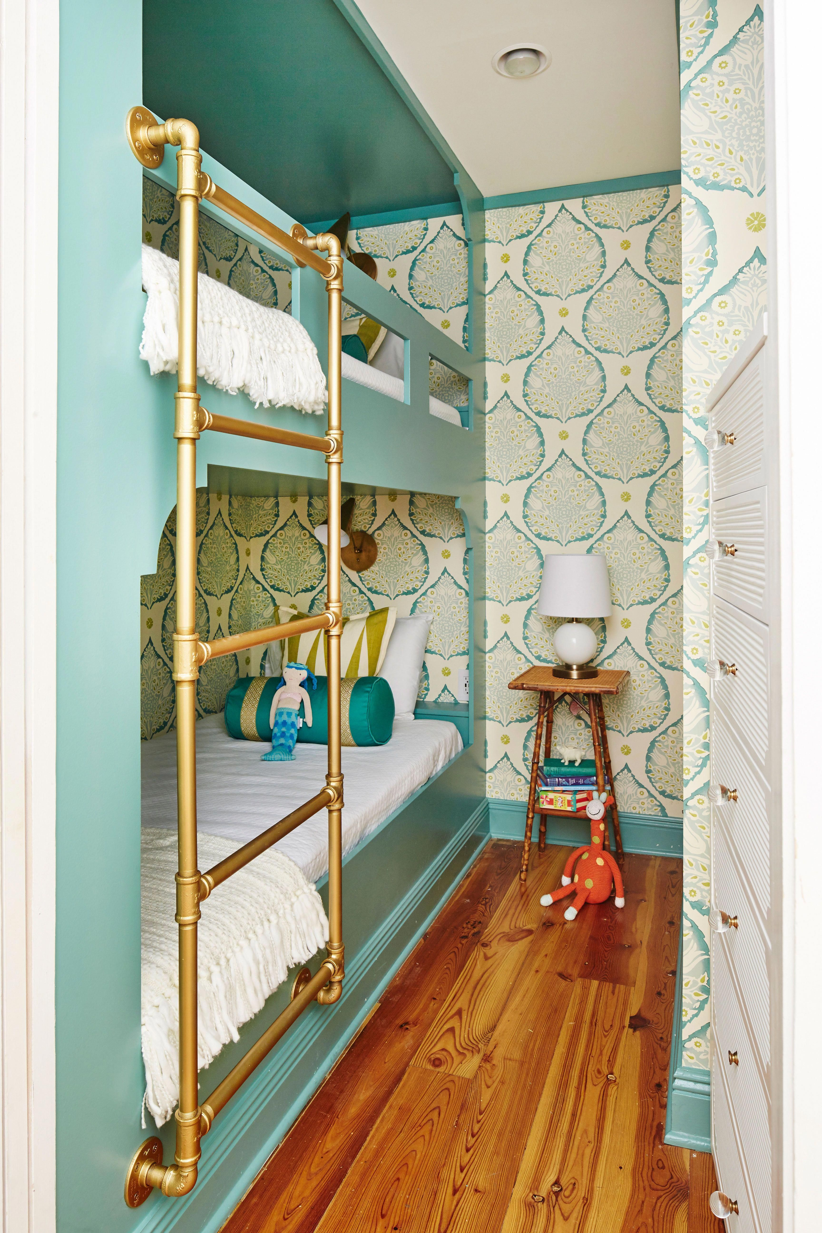 Corner loft bed ideas  In this Rosemary Beach condo dynamite design transformed a Rosemary