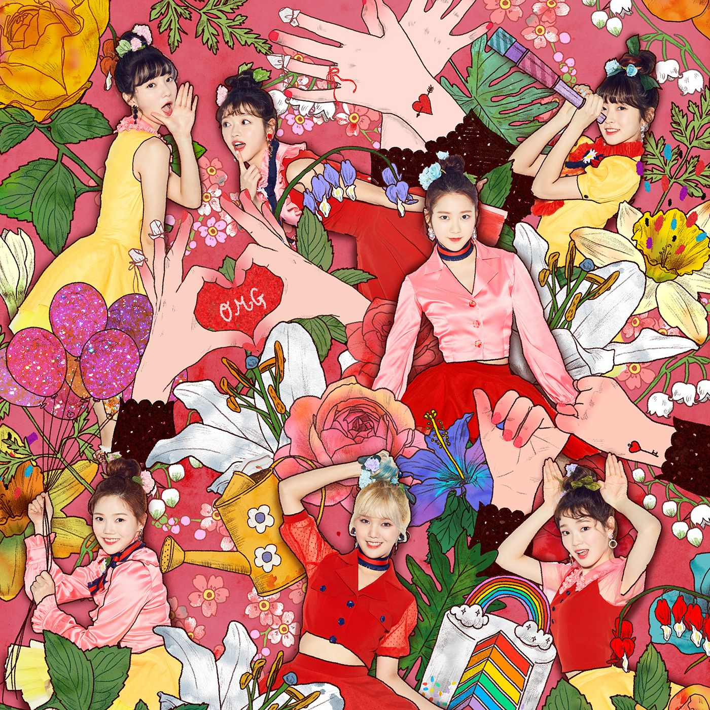510 Oh My Girl Coloring Book Mp3 Download Hd