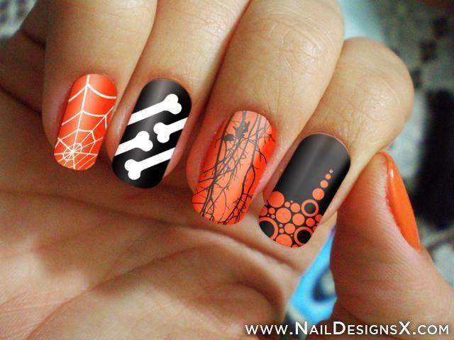 Great Halloween Nail Art Nail Designs Nail Art Halloween Nail