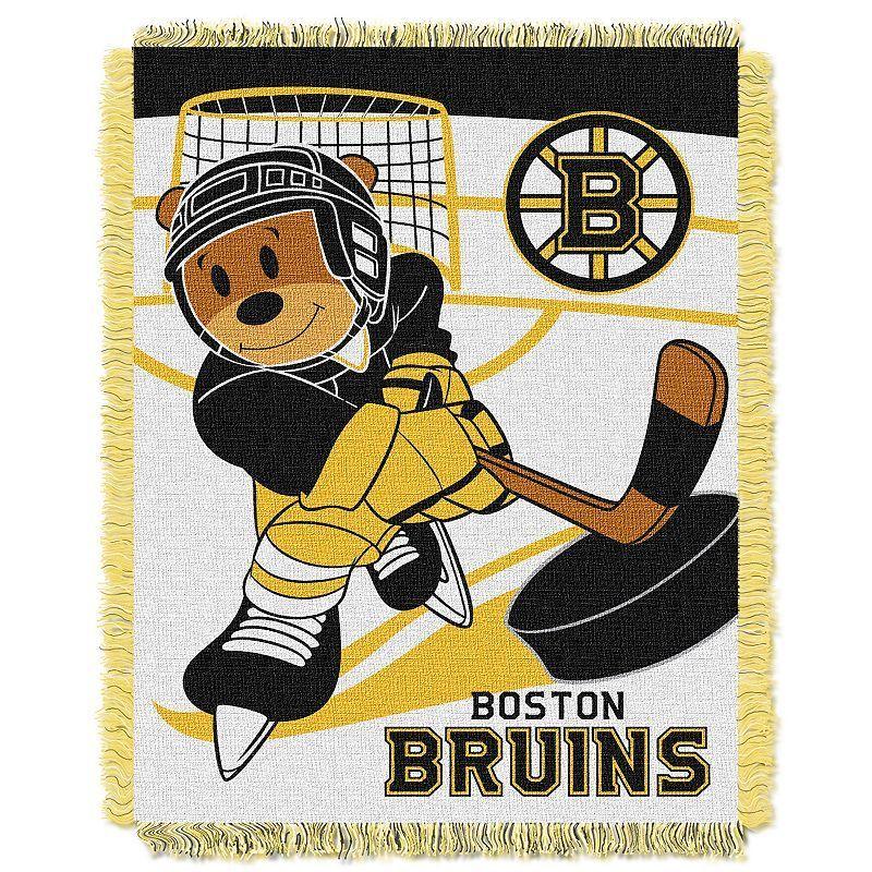 Boston Bruins Baby Jacquard Throw, Multicolor