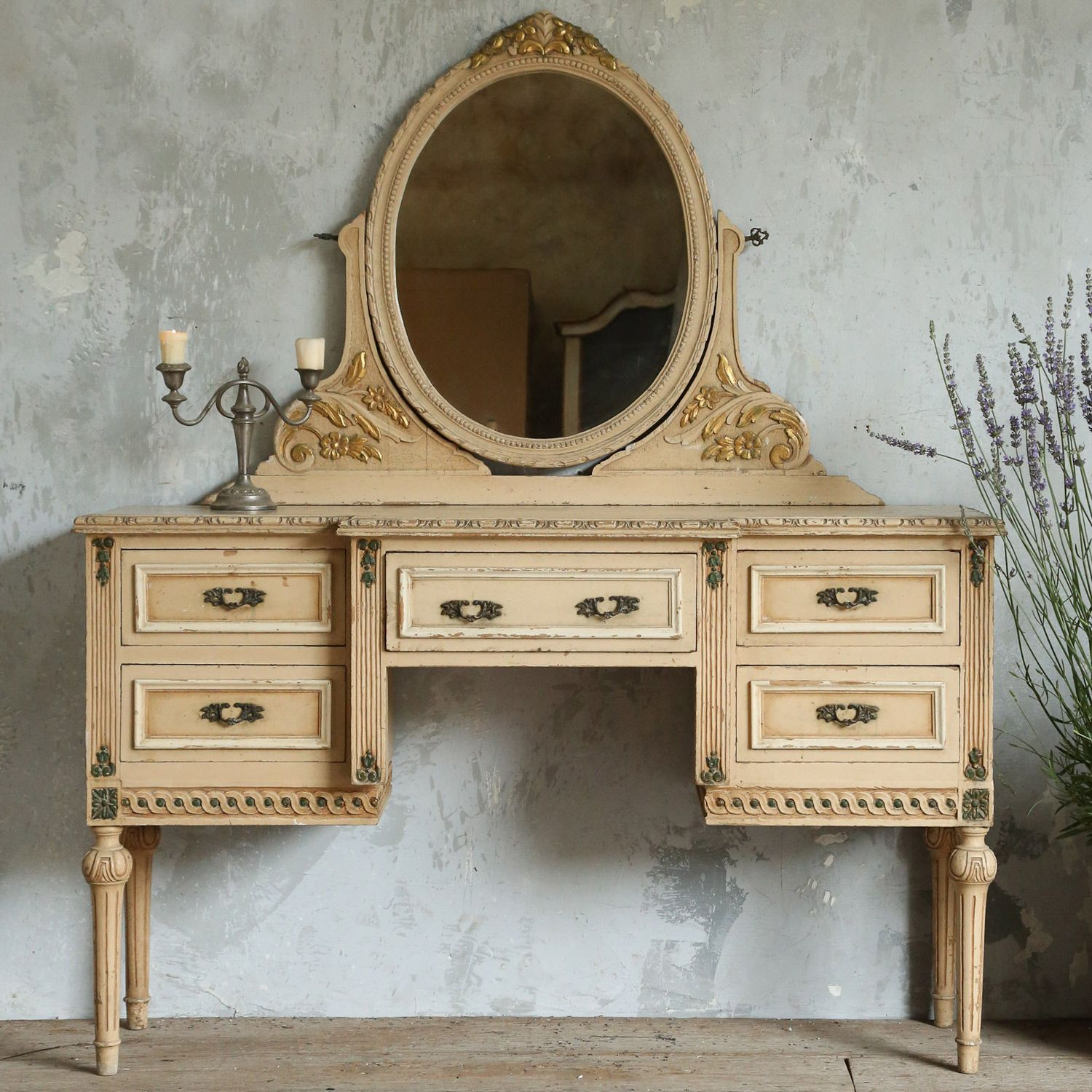 For the right price so me pinterest vintage vanity peach