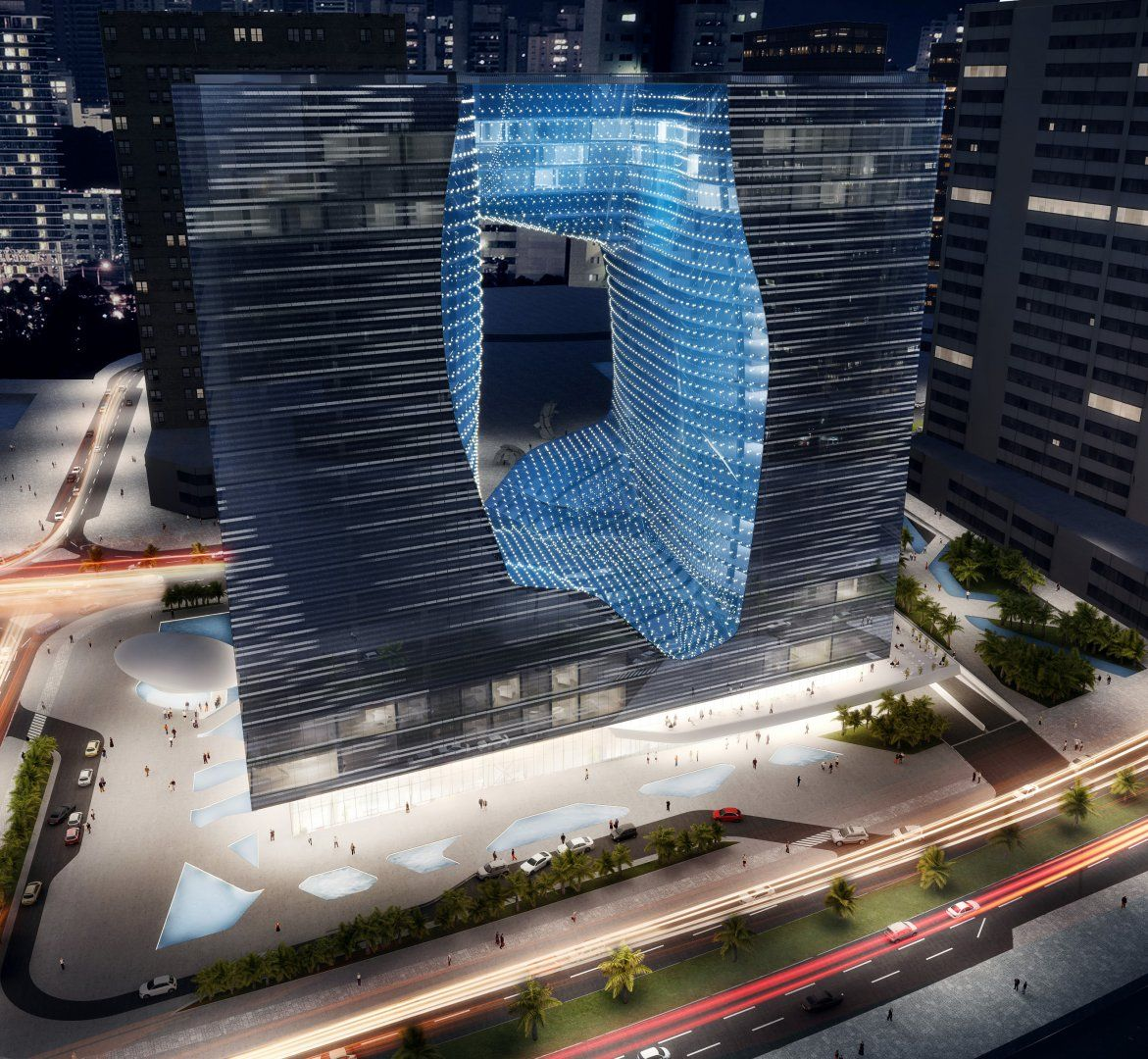 Opus Hotel & Serviced Apartments – Interiors - Interior Design - Zaha Hadid Architects