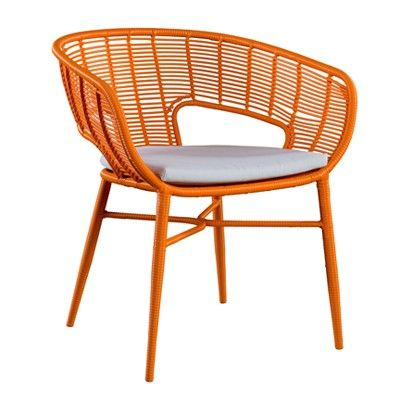 Bright Colour Added To Your Space With This Quirky Cane Chair To