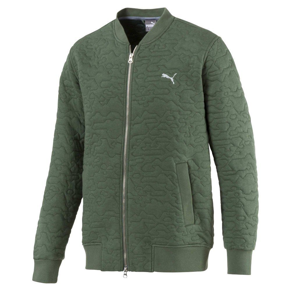 a9b9f8607ee2 WarmCell performance technology in these mens dassler PWR warm golf jackets  by Puma retains heat and helps maintain an optimum temperature in cold ...