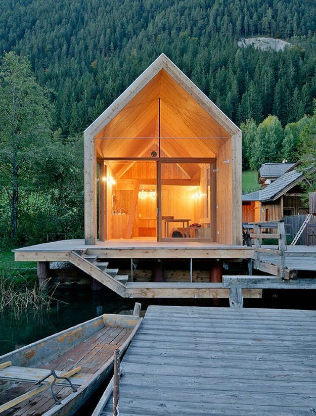 Old sawmill turned larchwood cabin austria s lake weissensee one day have a cabin in the - The recreational vehicle turned cabin in the woods ...