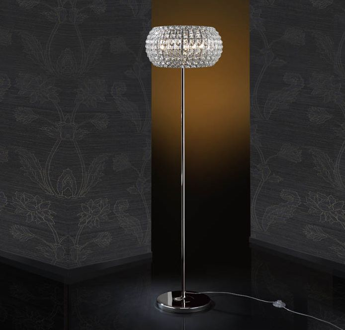 Originelle stehlampe diamond beleuchtung beltr n ihr lampenshop f r dekorative standlampen - Lamparas modernas salon ...