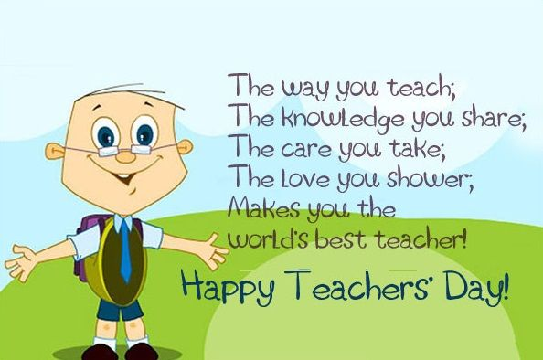 Thank You Messages Teachers Day English Happy Special  Home