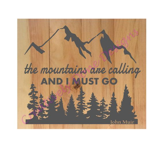 The mountains are calling and i must go diy wood sign kit free items similar to pallet sign diy the mountains are calling and i must go wood sign kit create your own paint your own sign do it yourself on etsy solutioingenieria Image collections