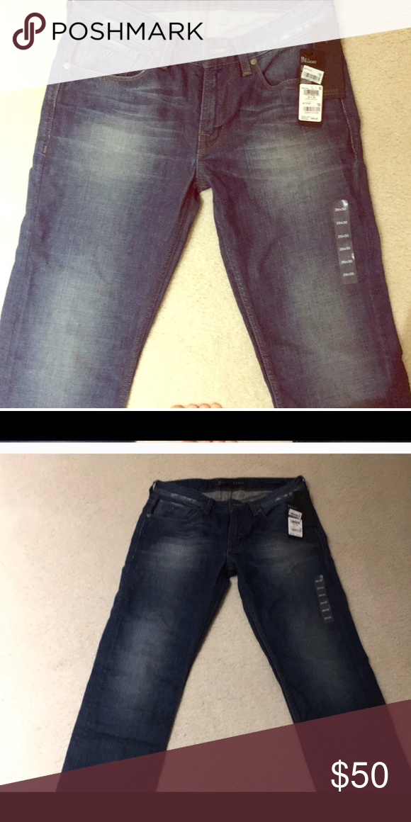 NWT'S MEN'S GUESS Jeans