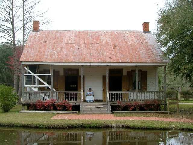 Cabins Farmhouse Acadian Style Homes Stairs Outside The House New Orleans Homes