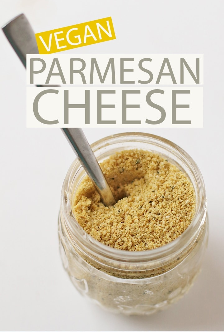 Make Your Own Vegan Parmesan Cheese At Home With Just 5 Simple Ingredients For A Salty And Savory Cheese In 2020 Vegan Parmesan Cheese Vegan Parmesan Vegan Condiments