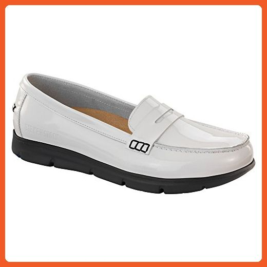 79d284c4a0d56 Birkenstock Women's Saitama White Patent Leather 38 N - Loafers and ...