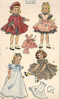 "Sweet Sue Miss Revlon Vintage Doll Pattern Dress Cowgirl ~ 14/"" 15/"" Toni"