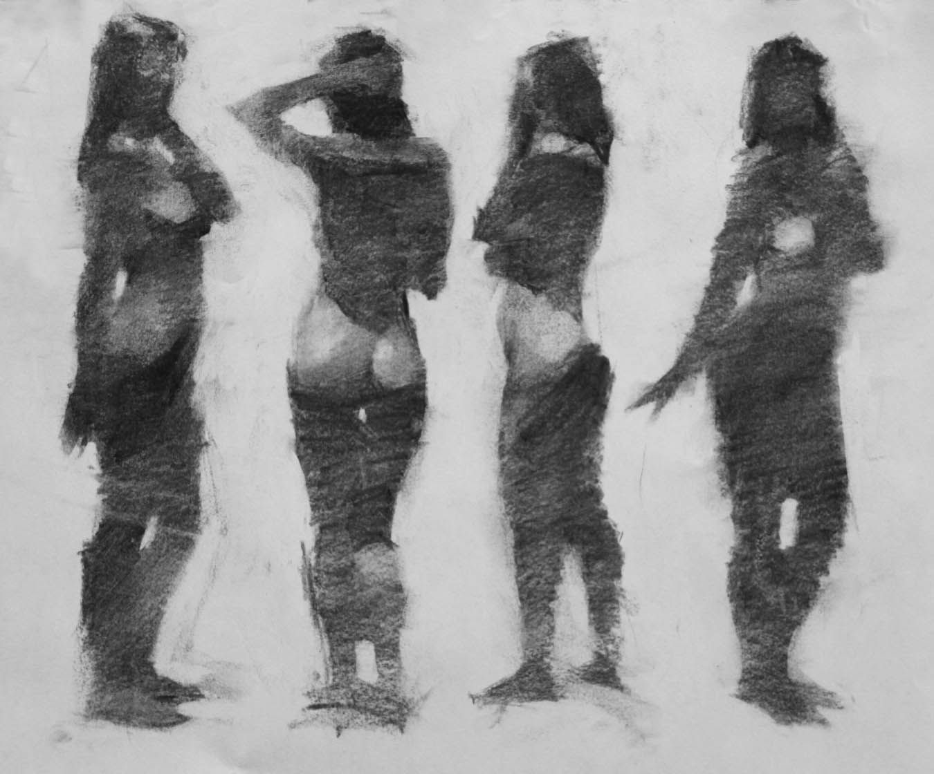 Vadim Zang Tonal Figure Drawing Tuesdays Www Laafa Org Classes