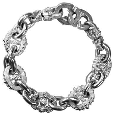 Patrik Muff sterling silver bracelet  #mens, #bracelet, #jewellery