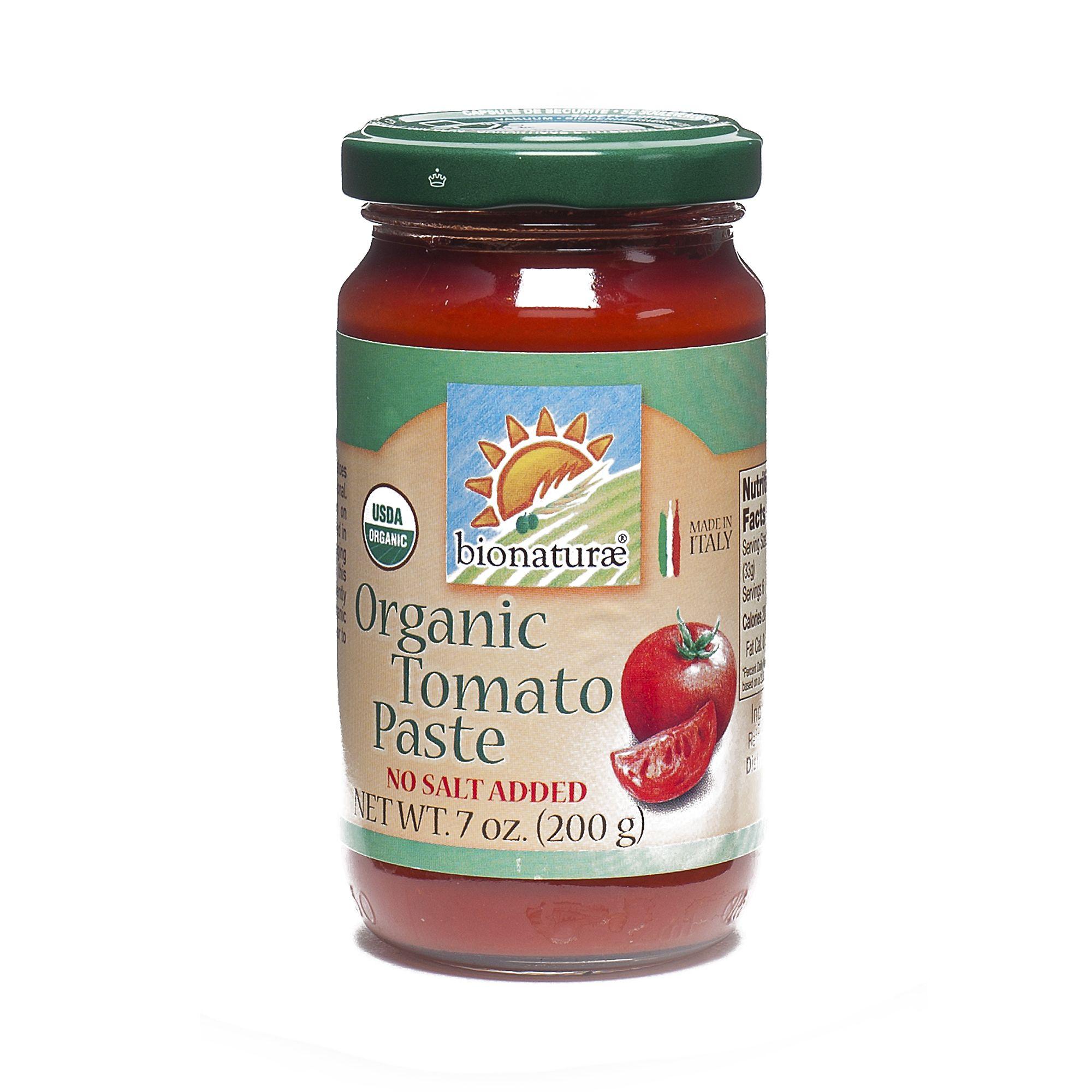 Bionaturae organic tomato paste organic recipes organic