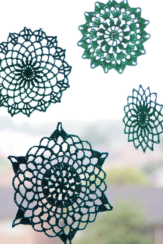 Ta-dah and free crochet pattern: Summer mandala\'s | Mandalas ...
