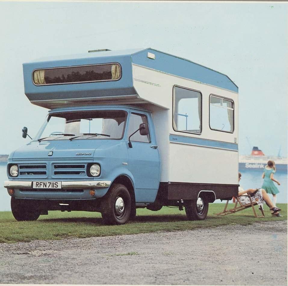 bedford camping cars camping car pinterest. Black Bedroom Furniture Sets. Home Design Ideas