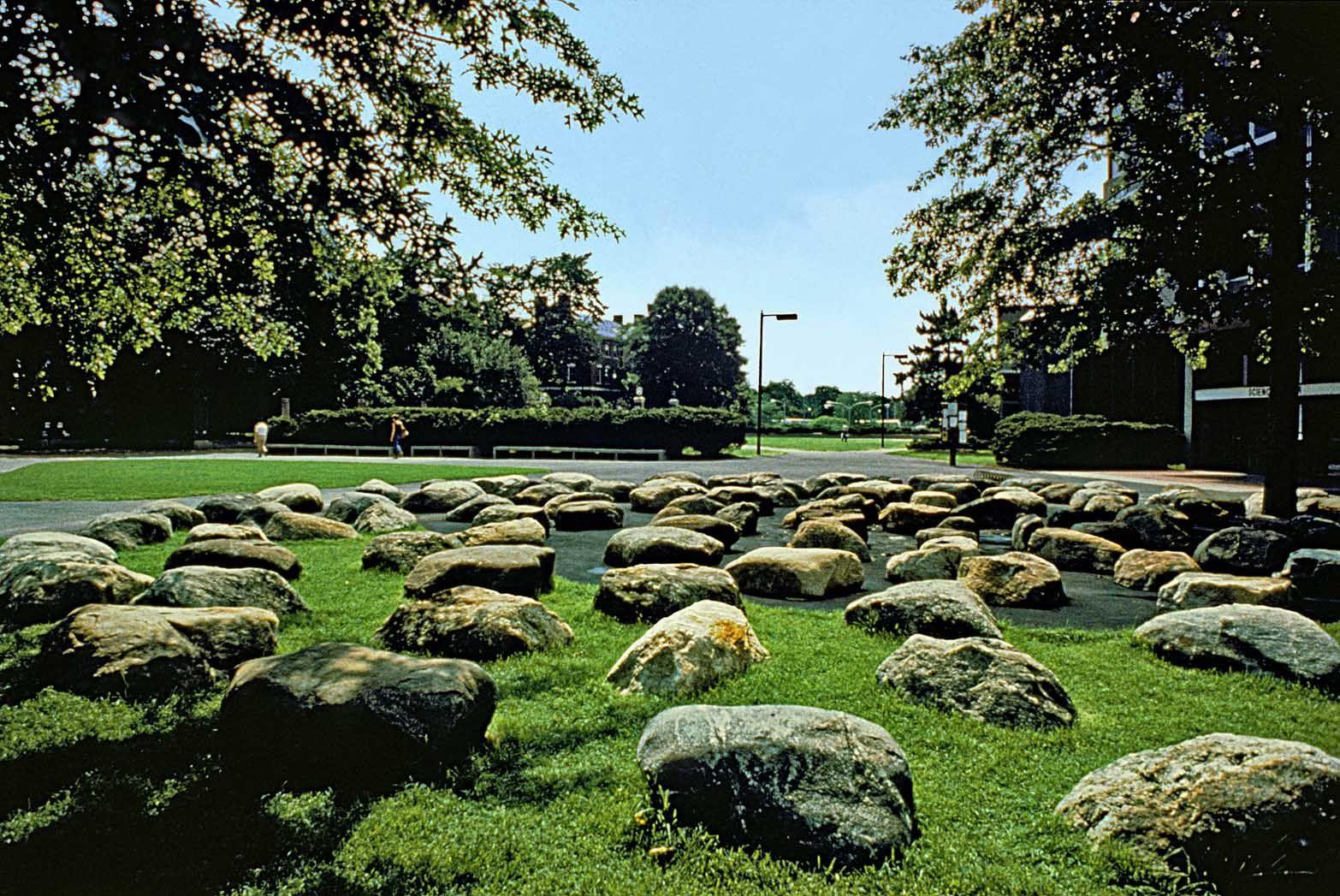 Tanner Fountain, Harvard University PWP Landscape