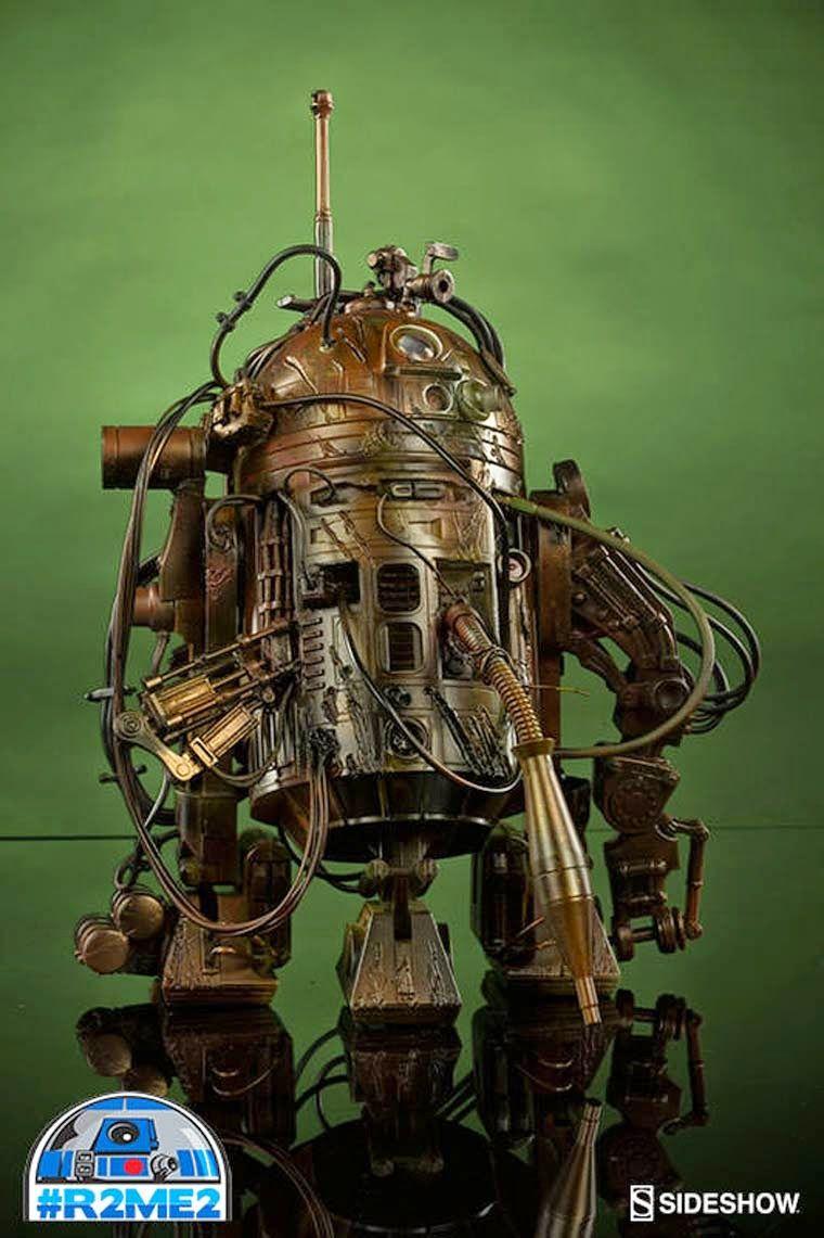 Tutano Mole: Artistas criam diversas versões do simpático R2-D2