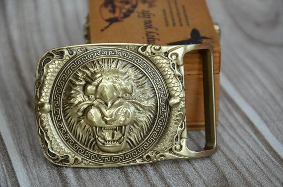 Vintage Dragon Belt Buckle Cowboy Motorcyclist DRGN-02