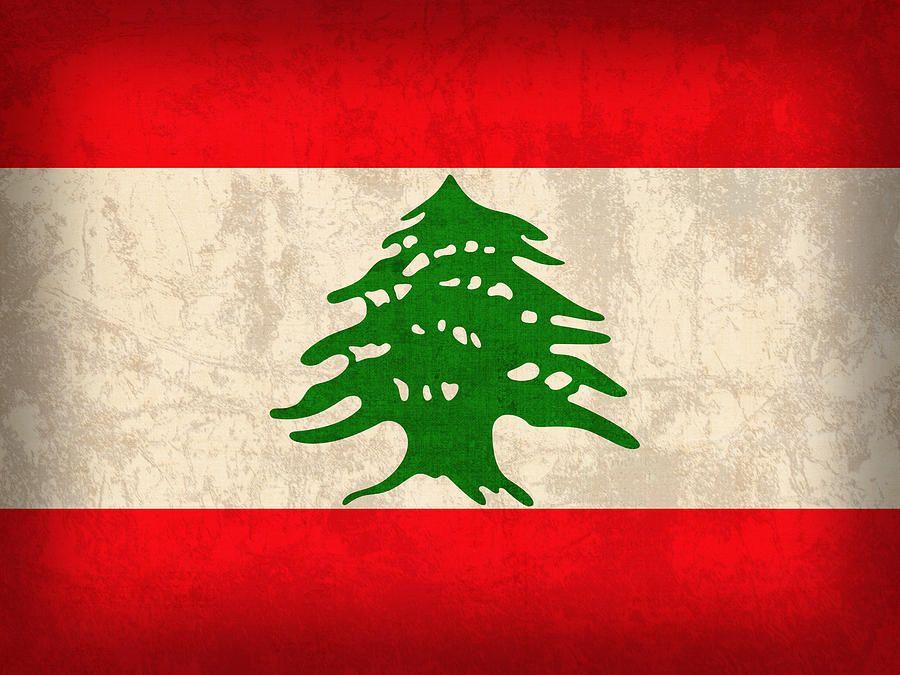 Lebanon Flag Vintage Distressed Finish By Design Turnpike In 2020 Flag Art Lebanon Flag Flags Of The World