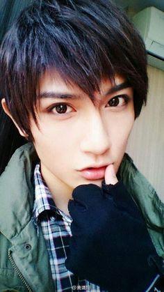 Asian boy cosplay