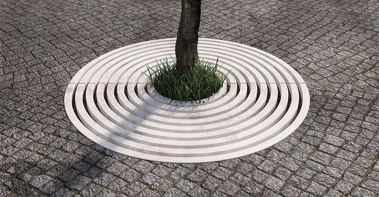 Concrete Tree Grate By Bellitalia Street Furniture Concrete