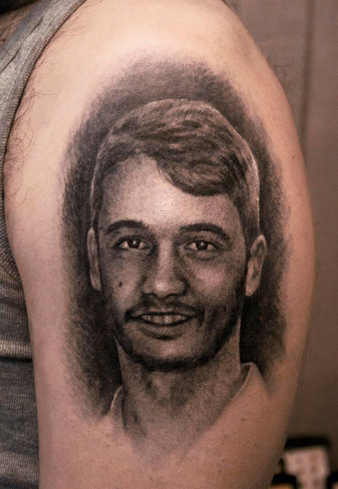Portrait tattoo by Dionisis. Limited availability at