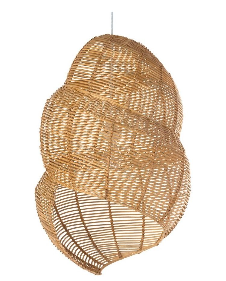 Wicker coiled shell pendant lamp houzz lighting pinterest wicker coiled shell pendant lamp houzz aloadofball Image collections