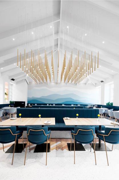 Gaga Shanghai China Modern Restaurant Design Asian Interior Design Interior Design School