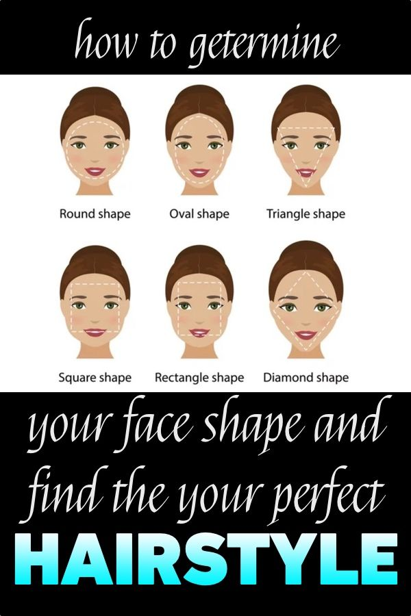 How To Determine Your Face Shape And Find Your Perfect Hairstyle Face Shapes Rectangle Face Shape Small Face Hairstyles