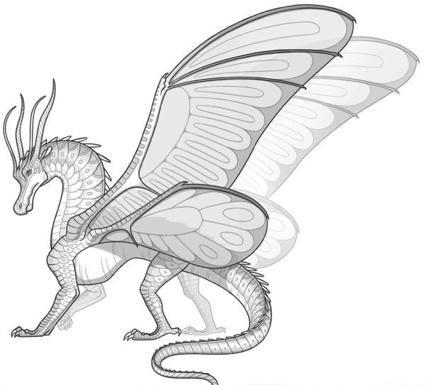 Wings of fire dragon coloring pages ~ SilkWings in 2019 | Wings of fire dragons, Wings of fire ...