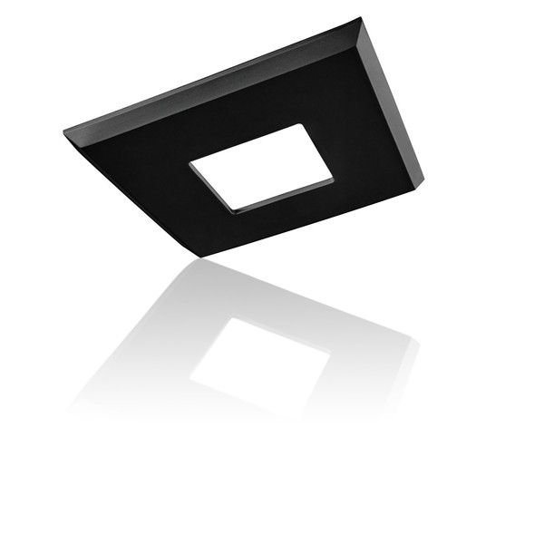 The Ezclipse Low Profile Square Cover Attaches With A Magnet To Your Existing 5 Inch Pot Lights Recessed Lig Recessed Light Covers Recessed Lighting Pot Lights