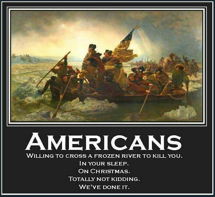 United States of America kicking Ass since 1776