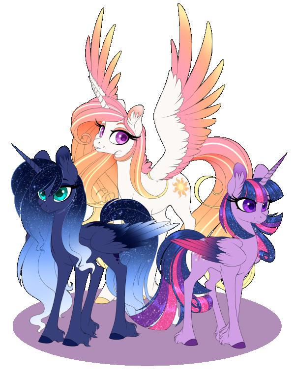 alicorn redesigns by olivine mlp ponies pinterest mlp pony