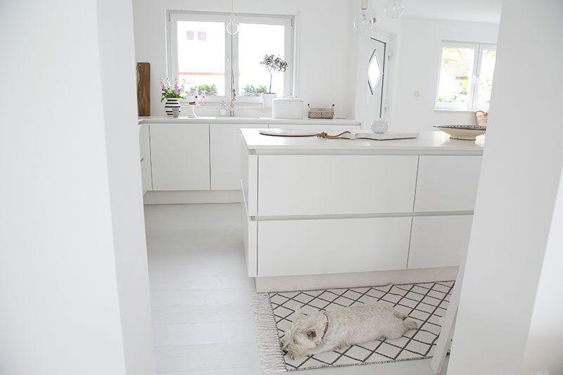 wei e k che ohne griffe matt k chenideen cocojana keramikarbeitsplatte von lechner k che. Black Bedroom Furniture Sets. Home Design Ideas