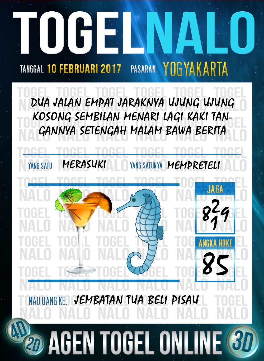 Acak Kodal 3d Togel Wap Online Live Draw 4d Togelnalo Yogyakarta 10 Febuari 2017 Desember 10 Februari November